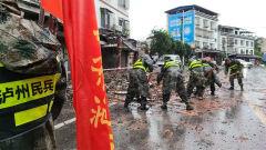 중국 쓰촨에 강진 60여명 사상
