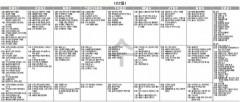 9월22일(수) TV 편성표