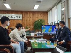 대구장애인인권연대, 인권조례 제정 무산된 대구 서구의회 항의 방문