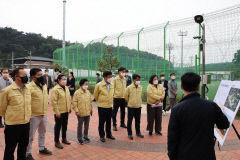 영주시의회, 죽계지구 하천재해 예방사업 현장 등 6개 사업장 방문 현안 점검