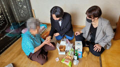 [동네뉴스] 대구 평화시장 닭똥집골목서 진동한 '사랑의 닭강정'
