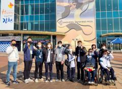 수영 강정은, 전국장애인체육대회서 대구에 첫金 선사 …대회 첫날 금5·은4·동7 순항